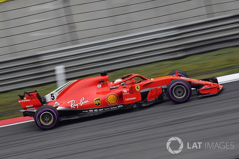 F1中国GP予選速報:ベッテルがライコネンを逆転しポール獲得