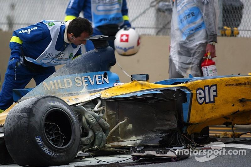VÍDEO: Quando Webber e Alonso destruíram seus carros em Interlagos
