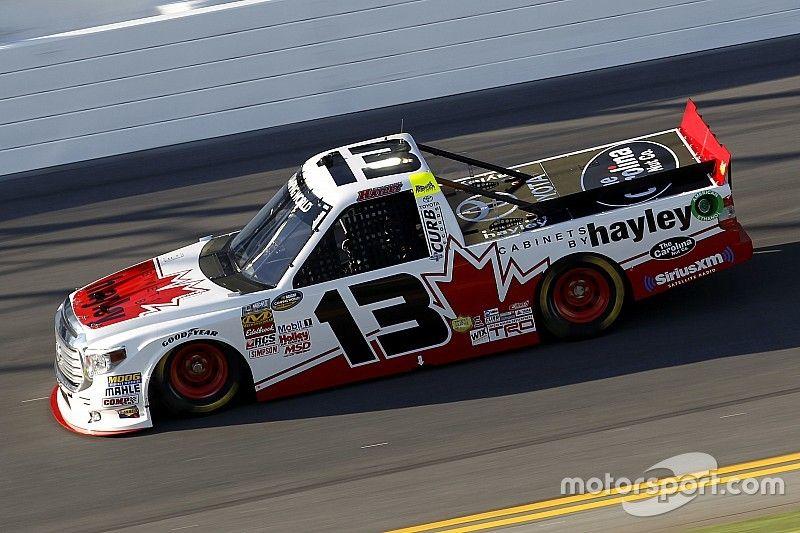 Calgary's Cameron Hayley to contest NASCAR Truck race in Kansas