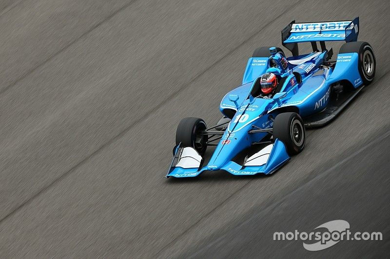 Pole de Rosenqvist con Dixon completando la primera línea para Ganassi