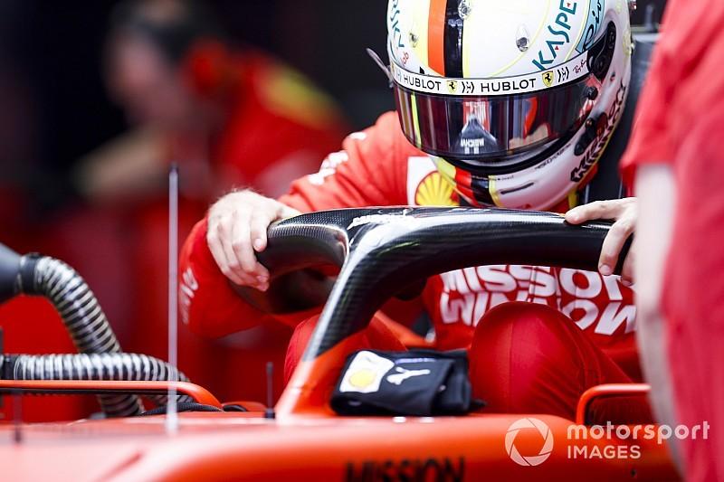Vettel és a pénteki nap képekben Barcelonából: FP1 és FP2
