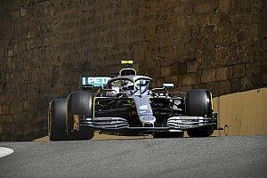 Bottas grijpt pole in fors uitgelopen kwalificatie, Verstappen P4