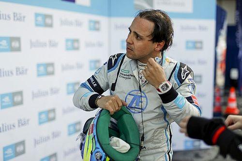 Massa revela vazamento na viseira no ePrix de Paris da F-E: 'Não conseguia ver nada'