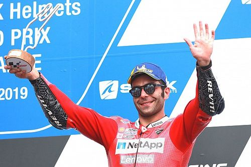 "Ducati: Petrucci podium ""very important"" as 2020 decision looms"