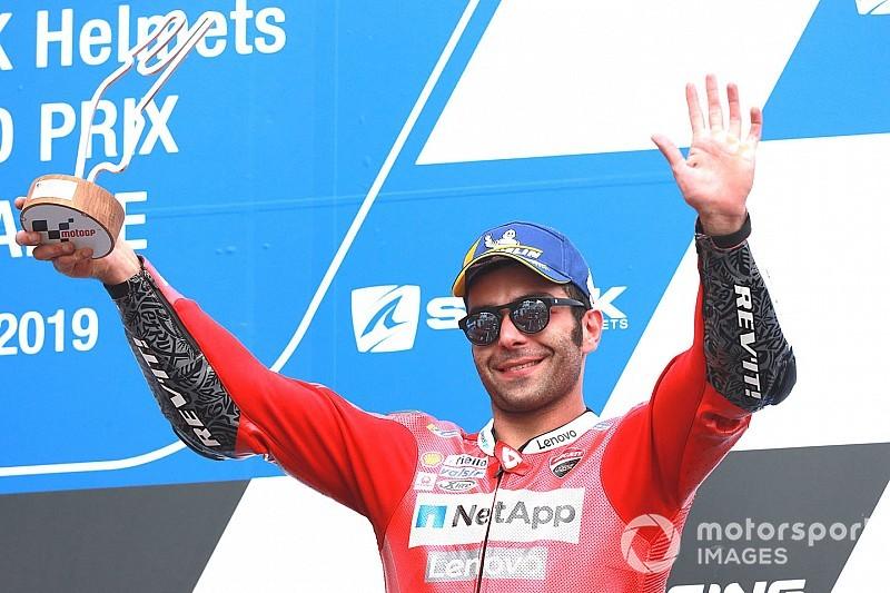Ducati-teambaas tevreden met Petrucci's werkwijze in Le Mans