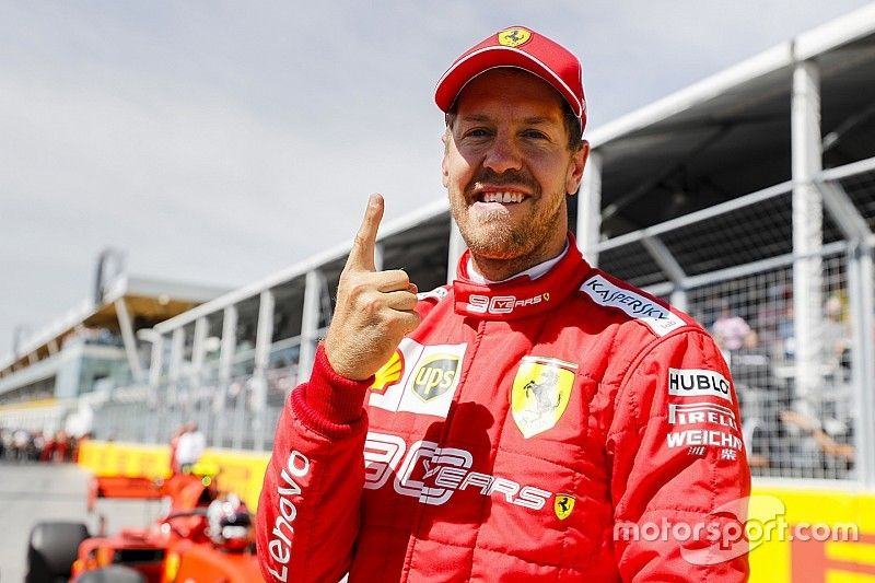 Canadian GP: Vettel beats Hamilton to end pole drought