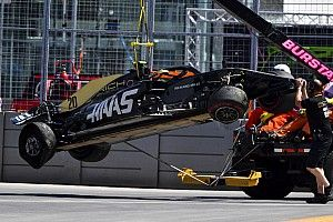 Magnussen wystartuje z pit lane