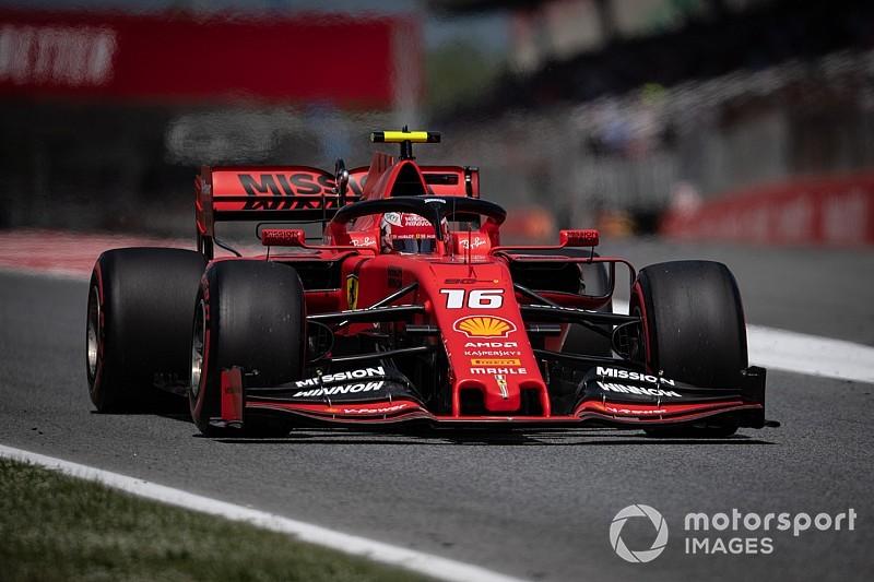 """Leclerc: """"Esperábamos sacar más con las actualizaciones"""""""