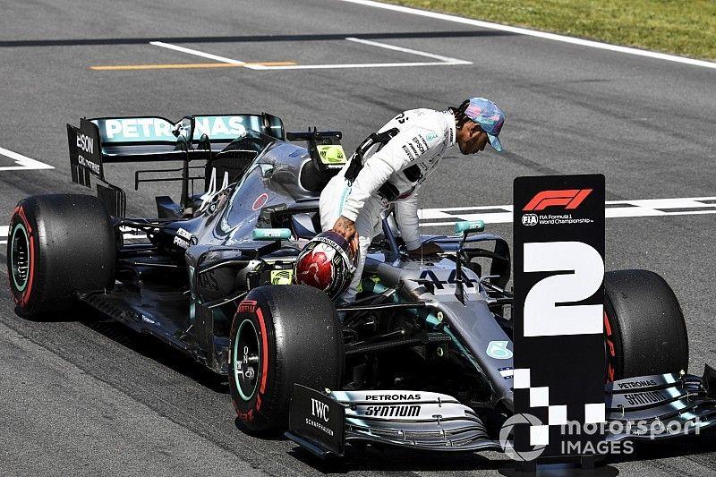 """Hamilton: """"Problema en la batería no fue factor"""""""