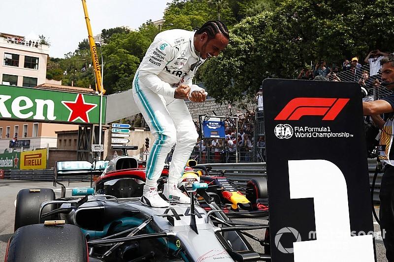 Hamilton logra su pole 85 en Mónaco