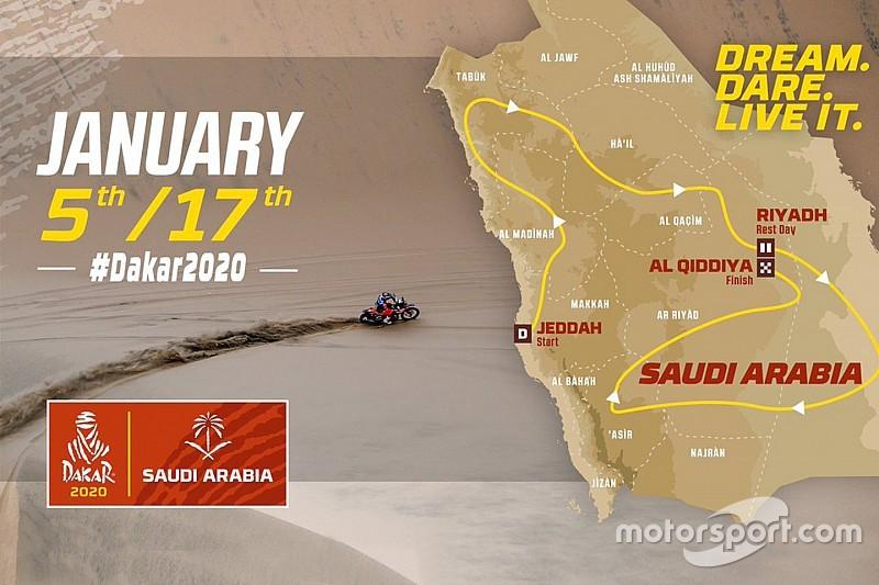 Organisatie onthult eerste details over Dakar Rally 2020