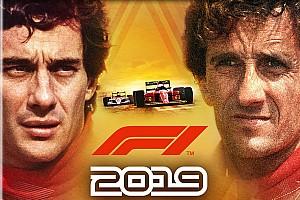 В игре F1 2019 появятся Прост с Сенной и машины Формулы 2