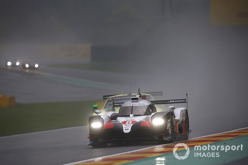 Spa WEC: Alonso tops wet, disrupted second practice