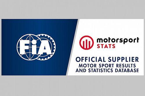 A Motorsport Network fogja biztosítani a statisztikai adatokat az FIA-nak