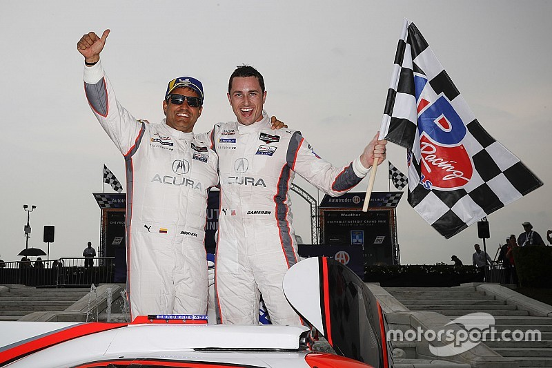 Detroit IMSA: Cameron, Montoya win for Acura Team Penske