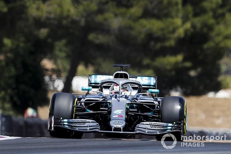 法国大奖赛排位赛:汉密尔顿击败博塔斯夺下杆位