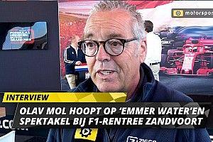 Olav Mol hoopt op 'vette race' en 'emmer water' voor F1 Zandvoort