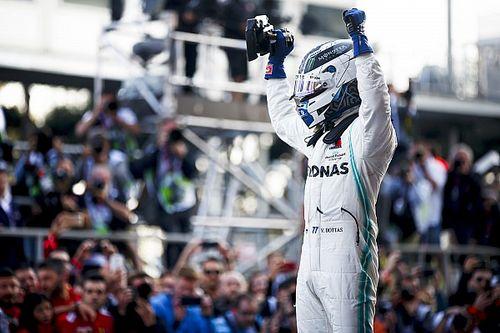 F1アゼルバイジャンGP決勝:ボッタスがハミルトンを下し今季2勝目! レッドブルのフェルスタッペンは4位フィニッシュ