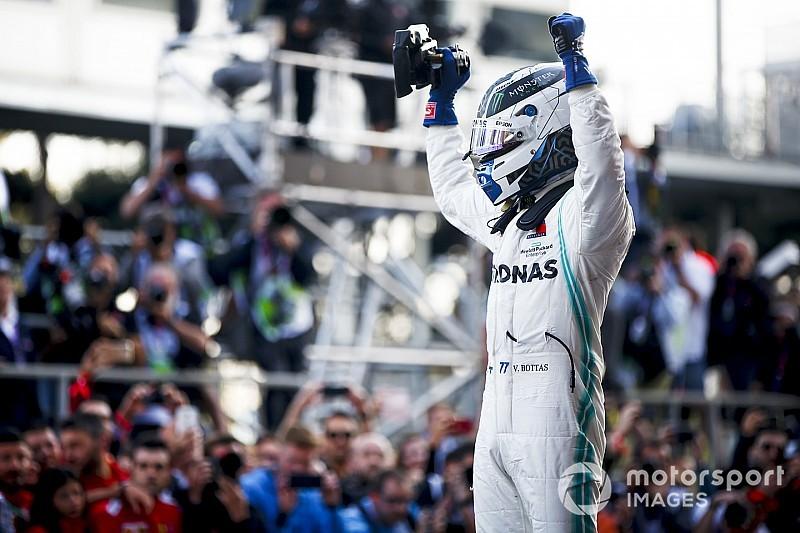 Azerbaijan GP: Bottas leads fourth consecutive Mercedes 1-2