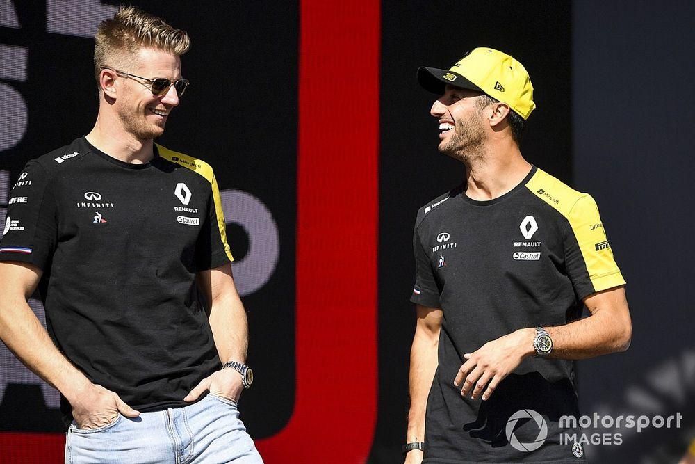 Ricciardo espera que Hulkenberg encuentre asiento en F1 2020