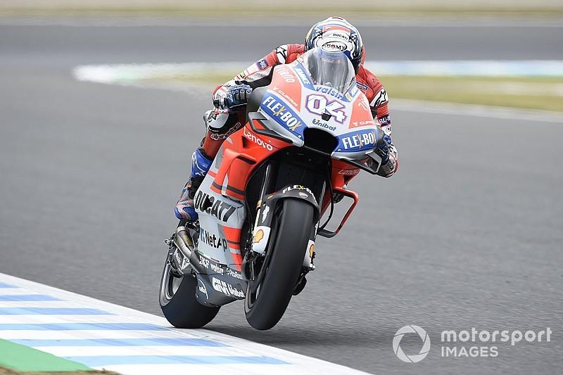 Dovizioso é pole no Japão e vê Márquez largar na segunda fila