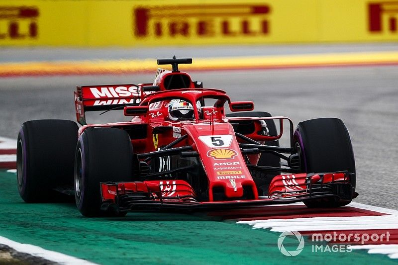 Vettel: Ferrari boosted by ditching recent upgrades