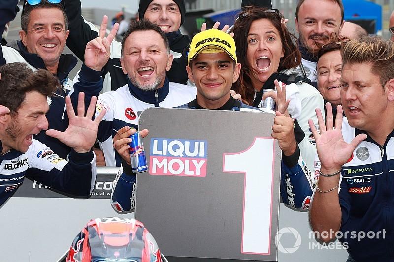 Mondiale Moto3 2018: Martin allunga a +12 su Bezzecchi, Diggia torna a -20