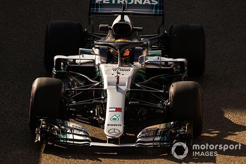 Hamilton: una reprimenda per aver superato la linea bianca fra pista e pit lane