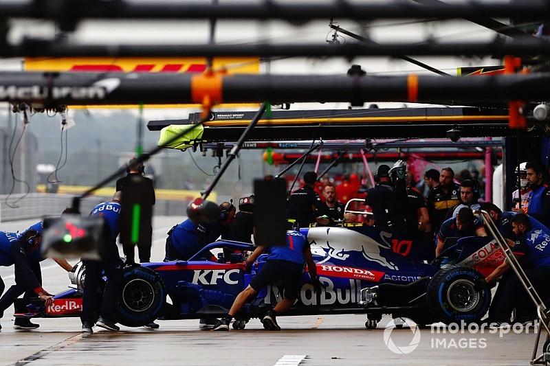 Honda wijzigt motor, gridstraf voor Gasly en Hartley
