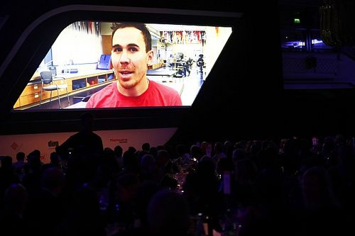 Autosport Awards: Robert Wickens sends message