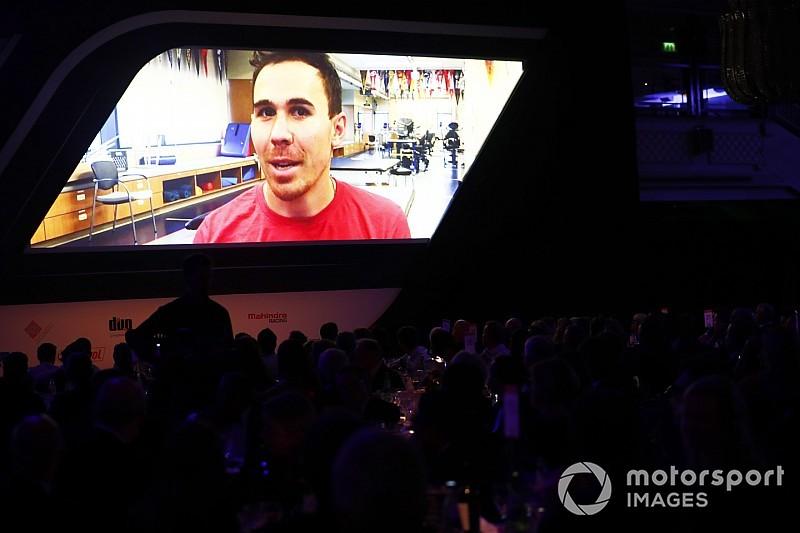 Autosport Awards: Robert Wickens manda un mensaje