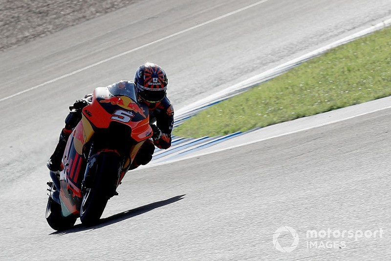 KTM race riders join Sepang shakedown in Pedrosa's absence