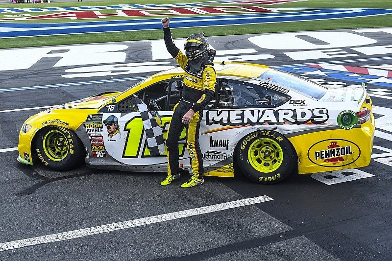 """Surprise win at Charlotte """"monumental"""" for Ryan Blaney's confidence"""