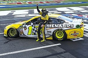 "Surprise win at Charlotte ""monumental"" for Ryan Blaney's confidence"