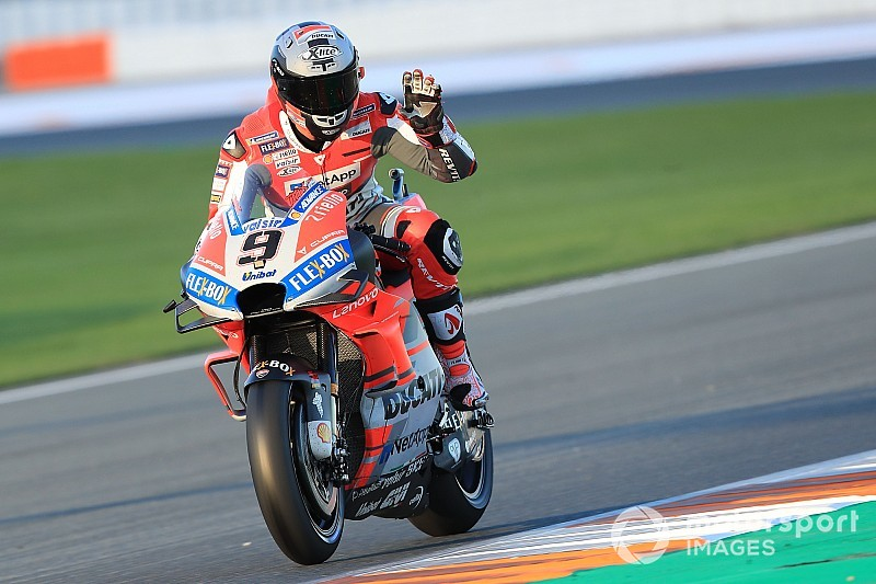 Ducati in Valencia: Dovizioso und Petrucci zufrieden, Pirro stürzt erneut