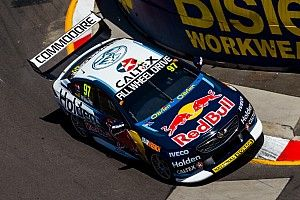Newcastle Supercars: Van Gisbergen leads all-Red Bull front-row