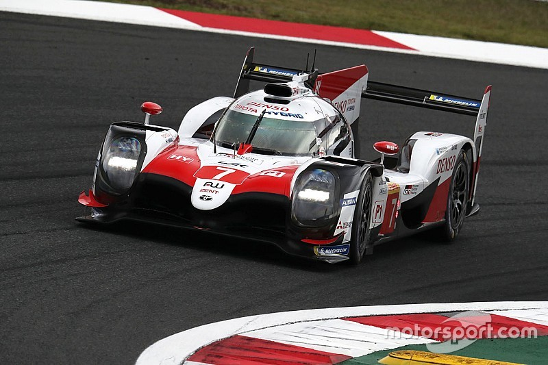#7 Toyota loses Fuji pole over infringement