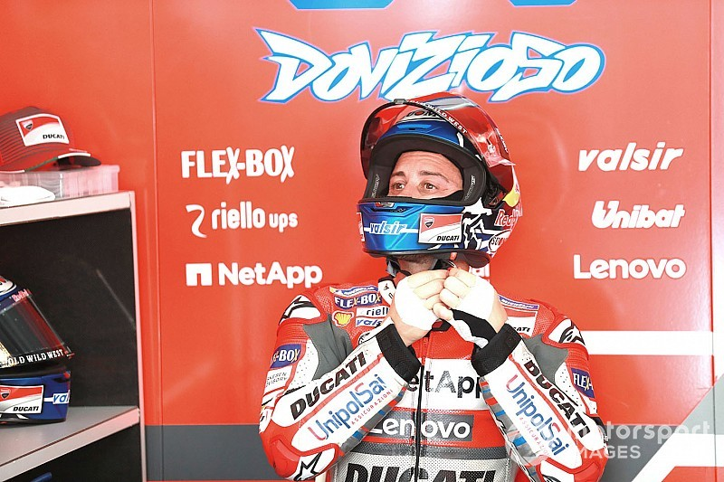 Dovizioso bingung jelaskan buruknya performa Ducati