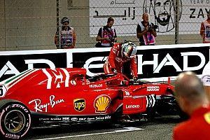 """Vettel : """"L'année a été dure"""""""