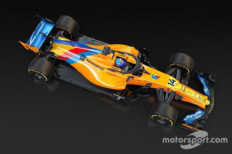 McLaren onthult speciale livery voor afscheid Alonso
