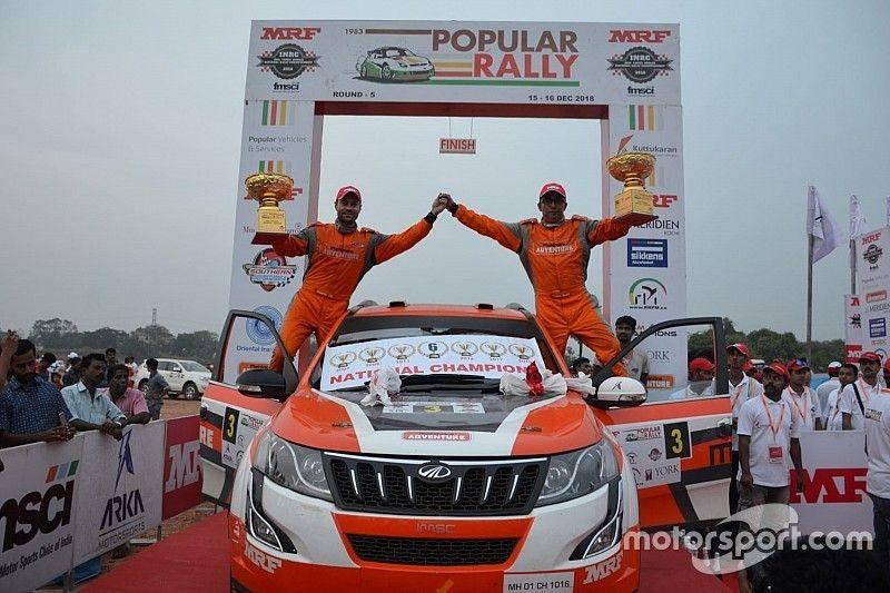 Popular Rally: Sixth INRC title for Gaurav Gill
