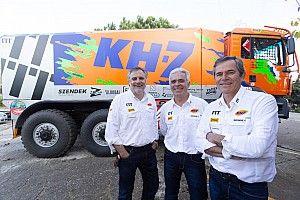 El equipo KH-7 Epsilon busca resarcirse del viacrucis del Dakar 2018
