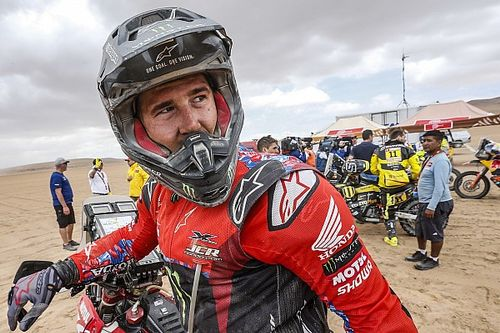 """Brabec: """"Es una locura estar liderando el Dakar"""""""