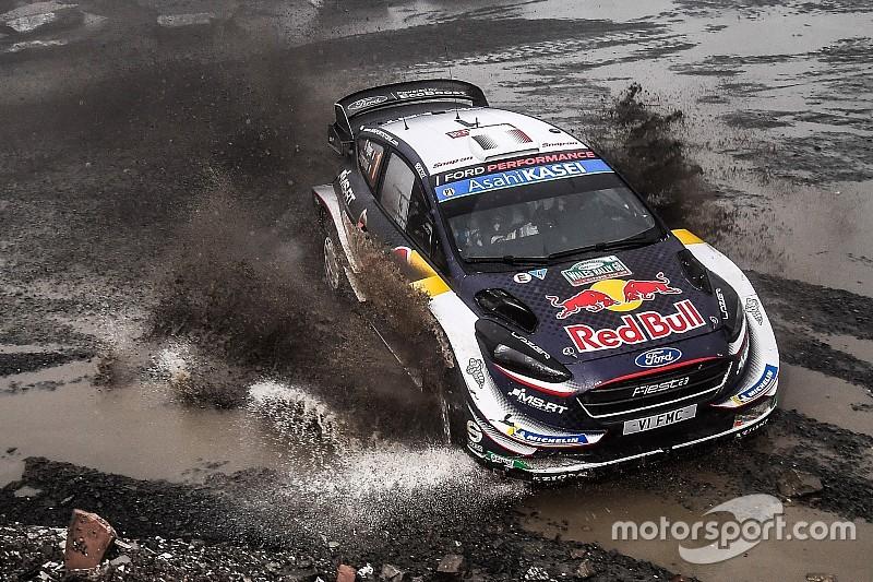 WRC Groot-Brittannië: Leidende Tanak valt uit, Ogier neemt commando over