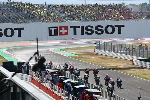 Fotos: alegrías y decepciones en la carrera del GP de Emilia Romagna