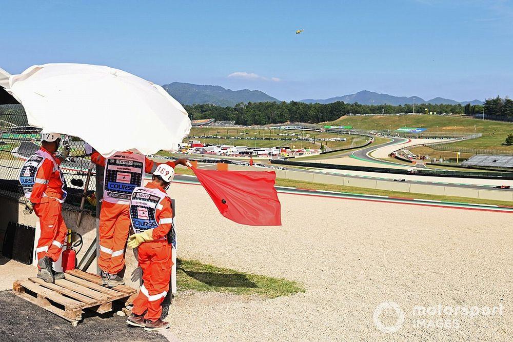 Vídeo: lío y caos en la F1, accidente múltiple en plena recta