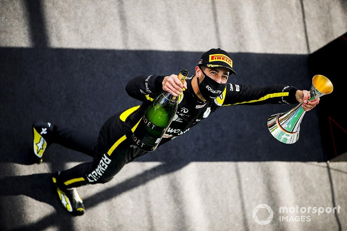 """F1: Abiteboul defende que Renault precisa se tornar """"viciada em sucesso"""" após pódio de Ricciardo"""