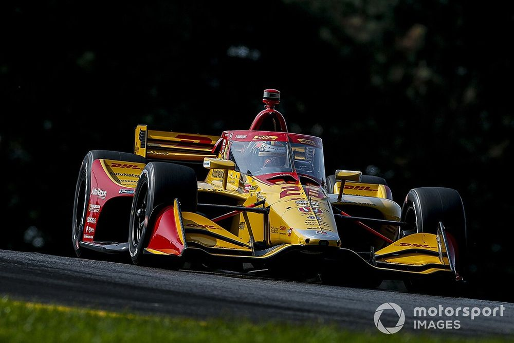IndyCar Mid-Ohio: Hunter-Reay leads Power, Rossi in practice