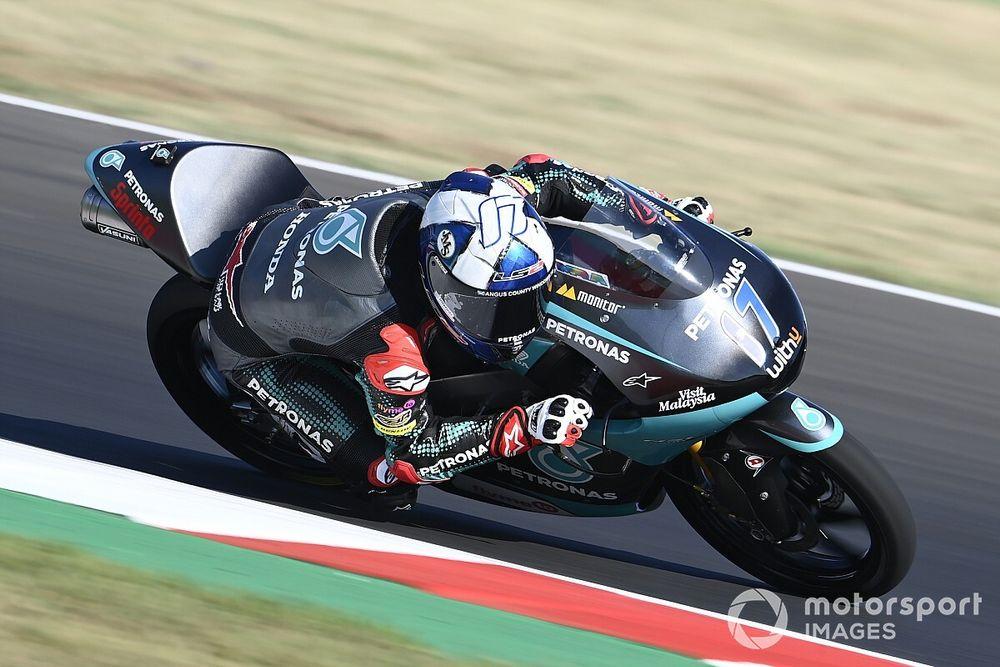 Moto3, Misano: McPhee rimonta da 17esimo a primo!