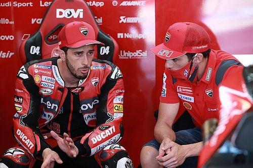 Rossi aimerait voir Dovizioso pilote d'essais chez Yamaha